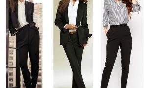 Женские брюки «классика»