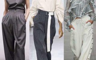 Какие бывают виды женских брюк. Фасоны, описание, фото