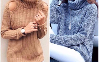 Модный выбор зимой: женские свитера