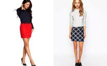 С чем носить прямые юбки