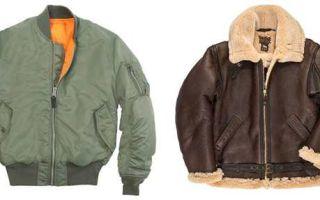 Куртка — бомбер
