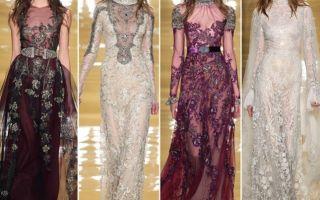 Модные платья — новинки в мире моды