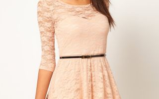 Модные фасоны платьев