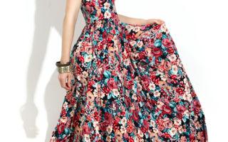 Длинное летнее платье – эффектность и королевское величие