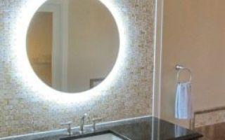 Преимущества зеркала с подсветкой