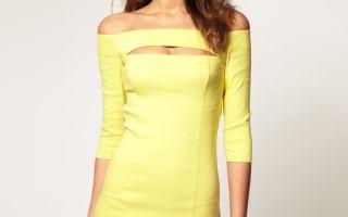 Модные фасоны платьев – выбираем наряд