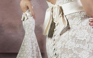 Свадебное платье со съемной юбкой — трансформер