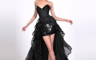Платье со шлейфом: для свадьбы и вечеринки