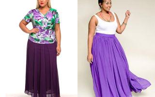 Какие выбирать юбки для полных женщин