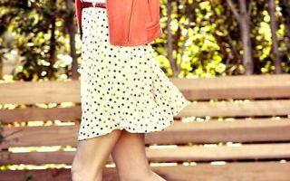 Платья в горошек снова в моде