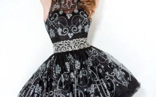 Платье с пышной юбкой, выбираем по фигуре