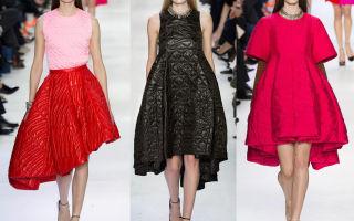Модные платья 2018 года