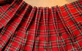 Как рассчитать складки на юбке по талии