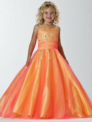 Детское платье для торжественных событий