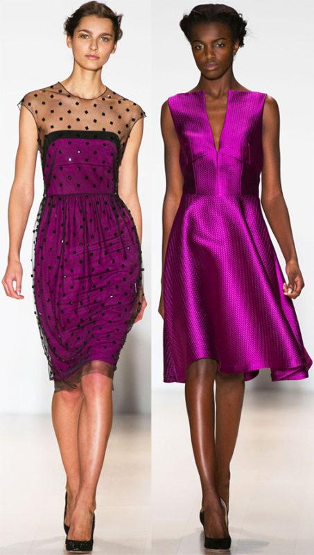 Красно-фиолетовый насыщенный цвет