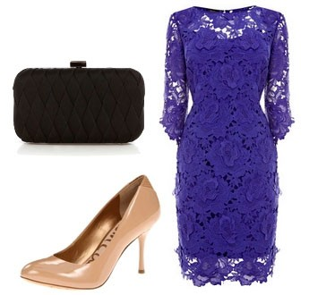 Платье, сумочка и обувь
