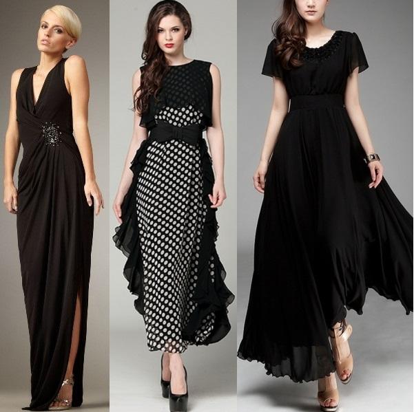 Длинные платья в стиле «хиппи»