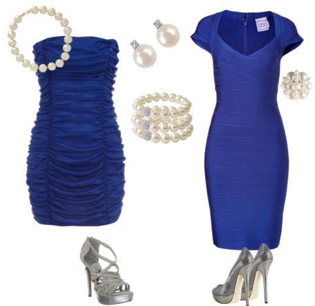 Платья, туфли и украшения