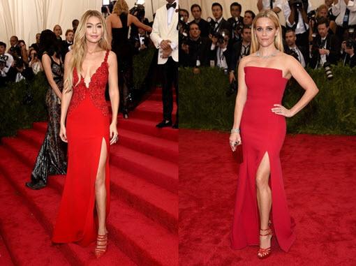 Красное вечернее платье фото
