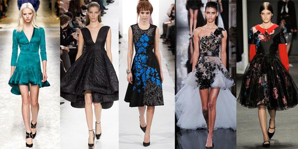Модные фасоны платьев 2015 года
