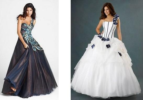 Пышные платья с бретельками со шлейфом