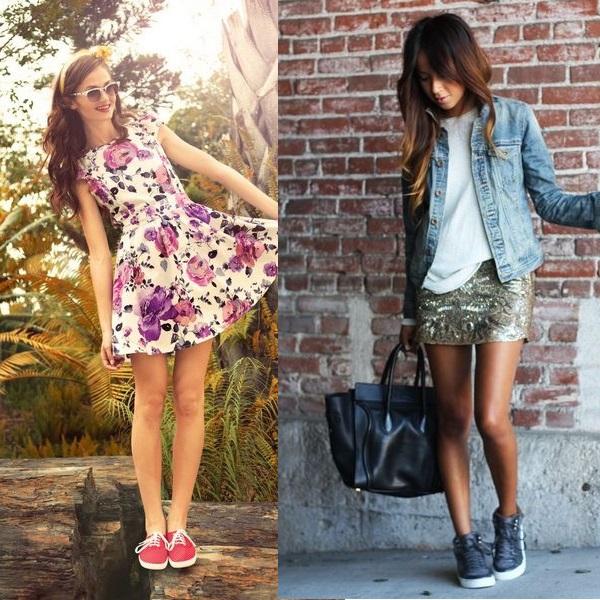 Образы, включающие спортивную обувь