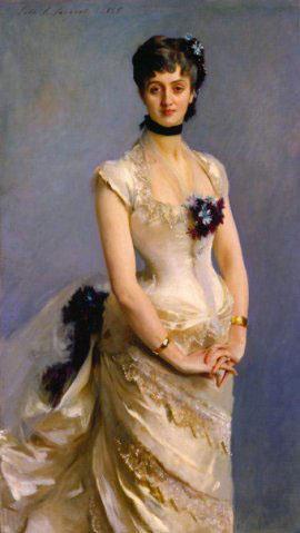 Платье, модное в 70-80 годах 19 века