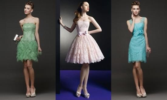 Вечерние платья в стиле «гламур»