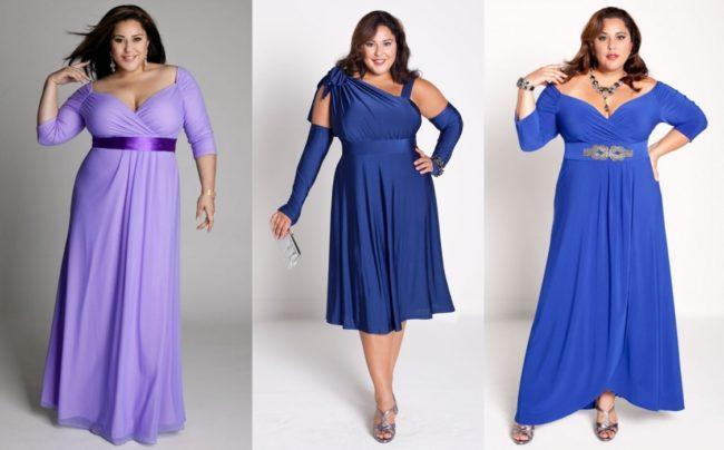 Стильные и элегантные наряды для женщин пышных форм