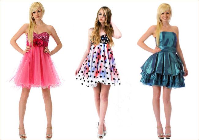 Платья в стиле baby doll