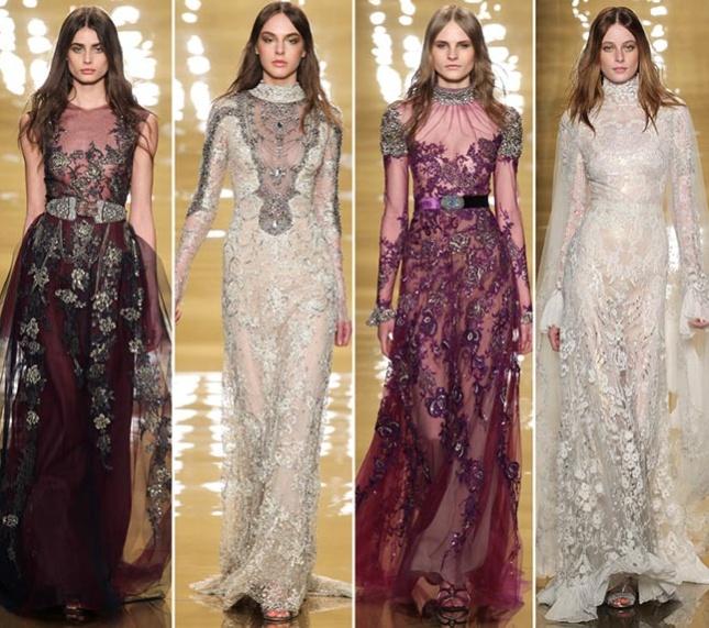 Модели платьев в длине макси