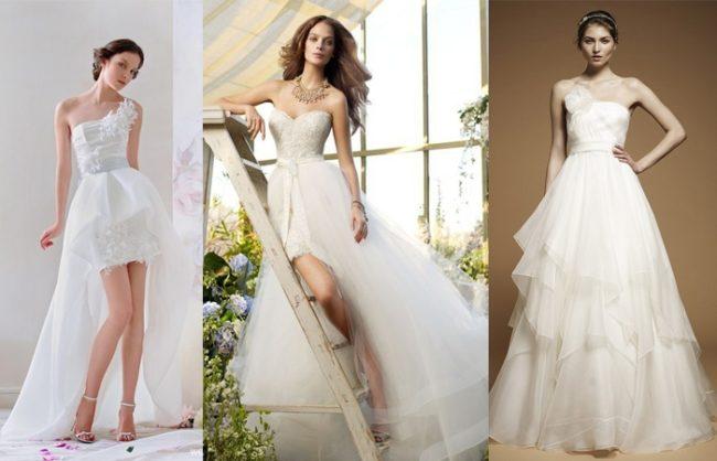 Варианты свадебных моделей