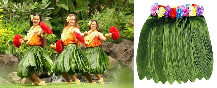 Гавайская юбка своими руками - как сделать? 69