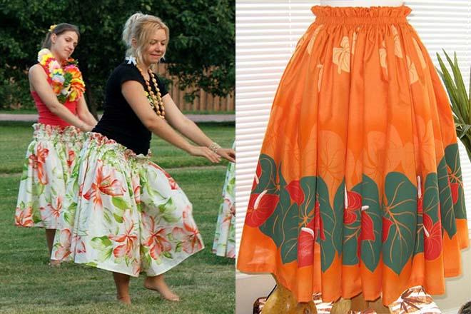 Гавайская юбка своими руками - как сделать? 11
