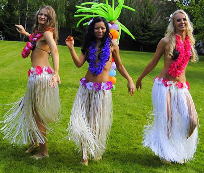 Гавайская юбка своими руками - как сделать? 61