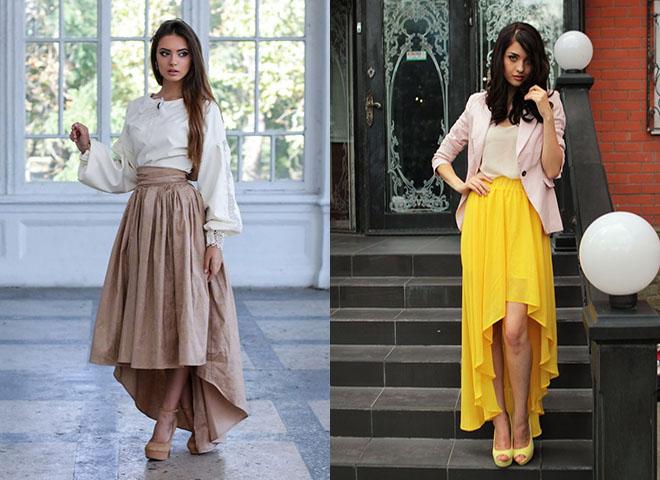 asimmetrichnaya-dlinnaya-yubka Асимметричная юбка - фото основной детали элегантного стиля