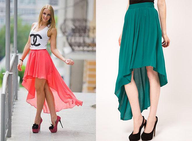 asimmetrichnaya-speredi-korotkaya Асимметричная юбка - фото основной детали элегантного стиля