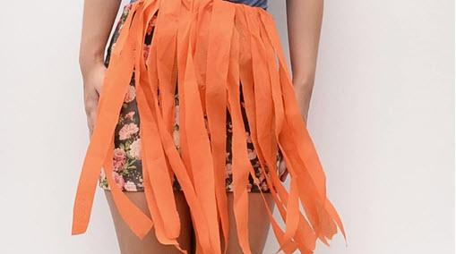 Гавайская юбка своими руками - как сделать? 83