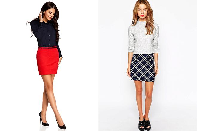 dfddf9c7fe9 Темные или пастельные прямые летние юбки можно смело надевать с рубашкой с  цветочным принтом. Яркие модели сочетаются с однотонным верхом пастельных  ...