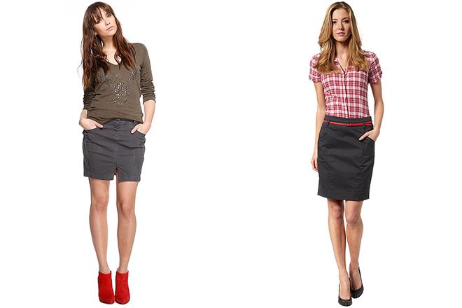bbceec247f5 Прямая юбка со шлицей относится к классическому