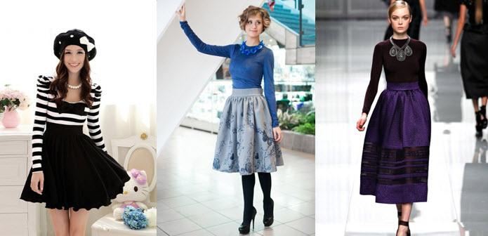 194aa08310c Края юбки напоминают перевернутый бутон цветка, в честь которого и названа.  Сегодня модница найдёт себе любые вариации этого фасона, который, ...