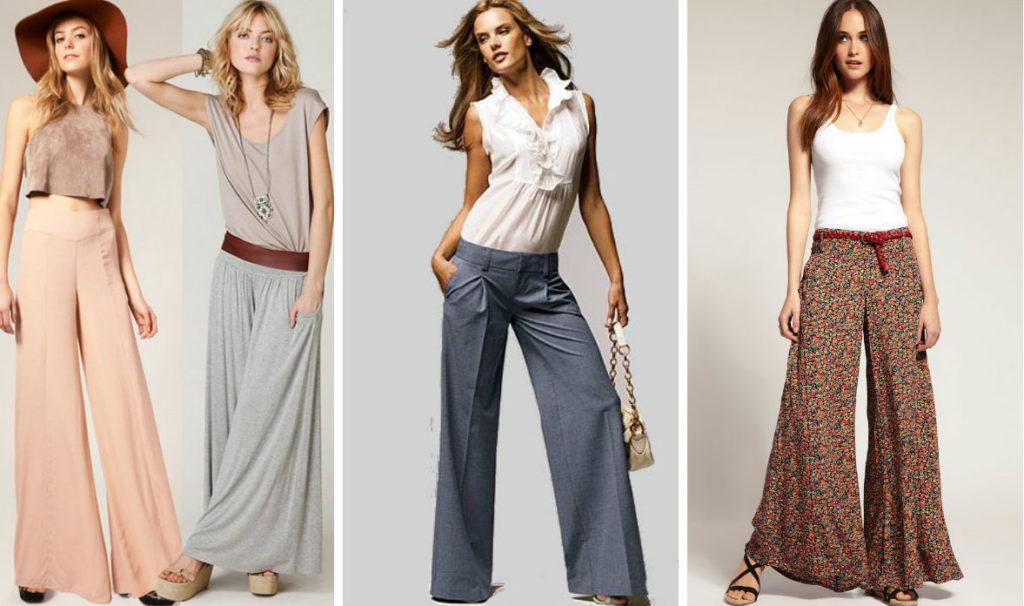 С чем носить юбку-брюки — достоинства, о которых следует знать