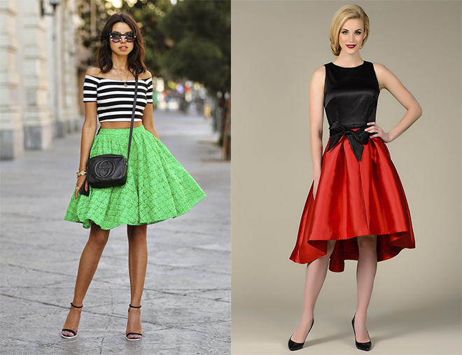 Каким типам фигуры идут юбки