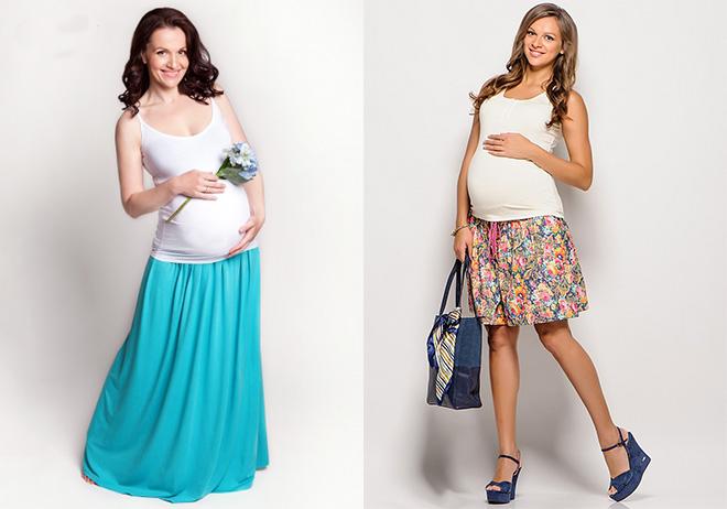 Какая юбка подойдет беременной 654