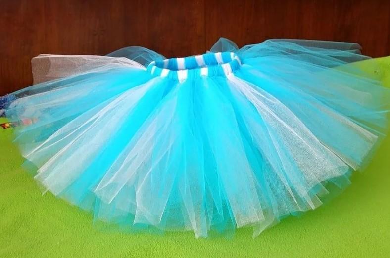 Сделать детскую юбку из фатина
