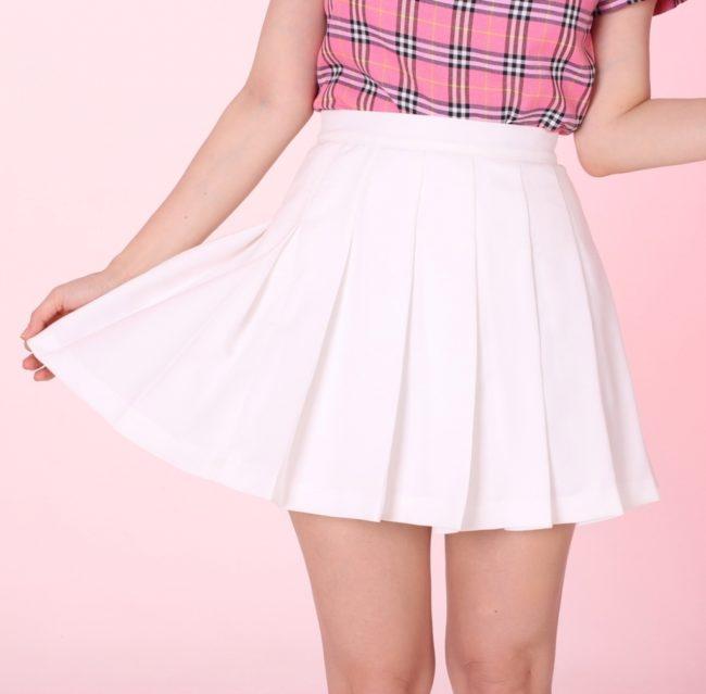 фото юбки в складку фото