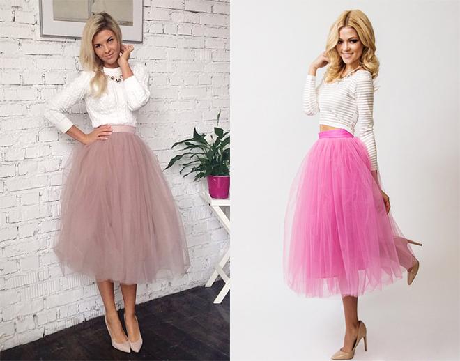 Секс через розовую юбку фото переставая