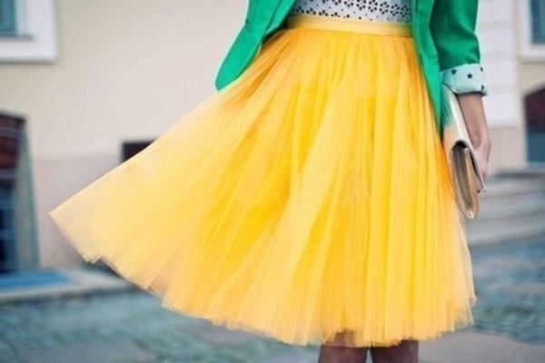 Желтая юбка карандаш : с чем носить и на какие случаи подойдет?