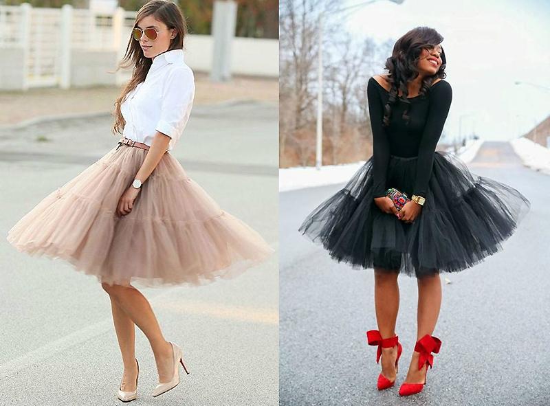 Модная пышная юбка своими руками