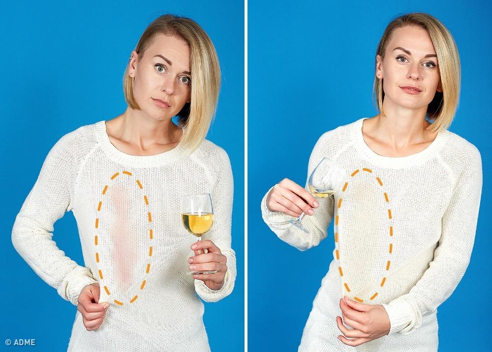 Как отстирать, удалить пятна от вина
